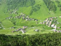 Malbun en Liechtenstein Images stock