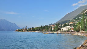 Malcesine, λίμνη Garda, Ιταλία Στοκ φωτογραφίες με δικαίωμα ελεύθερης χρήσης