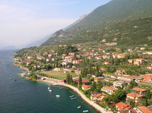 malcesine λιμνών της Ιταλίας garda πόλε&o Στοκ Φωτογραφία