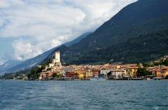 Malcesine στη λίμνη Garda στοκ φωτογραφία με δικαίωμα ελεύθερης χρήσης