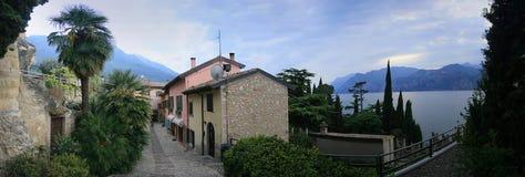 Malcesine, озеро Garda, Италия Стоковые Изображения