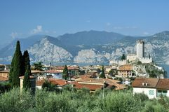 Malcesine Royalty Free Stock Photos