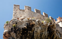 Malcesine castle Royalty Free Stock Photos