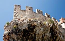 Malcesine castle Royalty Free Stock Photos