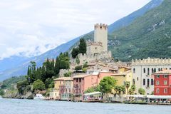 Malcesine Royalty Free Stock Photography