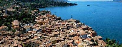 Malcesine del lago Garda Foto de archivo