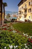 Malcesine, garda lake Stock Photos