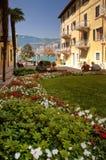 Malcesine, garda lake. A beatiful view of Malcesine (Garda lake Stock Photos