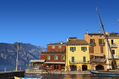 Malcesine - Garda Lake - Italy Stock Photography