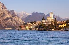 Malcesine - Garda Lake - Veneto Italy Stock Images