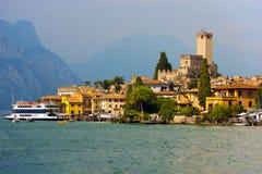 Malcesine - Garda See - Venetien Italien Lizenzfreie Stockfotografie