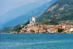 Malcesine - Garda See - Venetien Italien Lizenzfreie Stockbilder