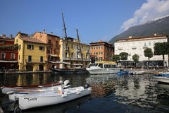 Malcesine Harbor Royalty Free Stock Images