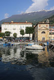 Malcesine Harbor Stock Photography
