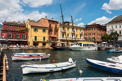 Malcesine Royalty Free Stock Images