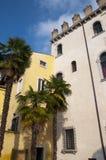 Malcesine House on Lake Garda Stock Images