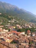 Malcesine, Italië stock foto