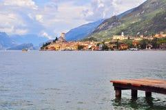 Malcesine, Italia Fotografie Stock Libere da Diritti