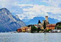 Malcesine, Italie Image libre de droits