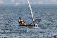 MALCESINE, ITALY the foiling week 2016 Royalty Free Stock Photography