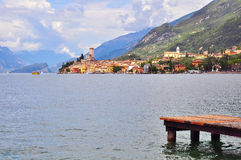 Malcesine, Italy Royalty Free Stock Photos