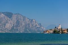 Malcesine - Lago Di Garda Lizenzfreies Stockbild