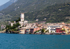 Malcesine on Lake Garda Stock Image
