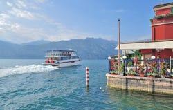 Malcesine,Lake Garda,Italy Royalty Free Stock Image