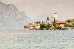 Malcesine at Lake Garda Royalty Free Stock Images