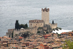 Malcesine, Lake Garda, Italy Stock Photography