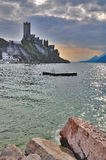 Malcesine,Lake Garda,Italy Stock Images