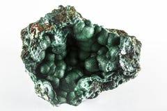 Malchite矿物岩石 库存图片