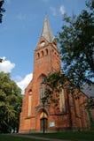 Malchow-Abtei in einem Park Deutschland Stockfotos