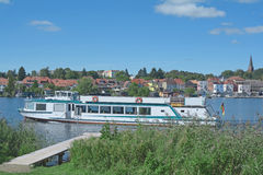 Malchow,Mecklenburg Lake District,Germany Royalty Free Stock Photo