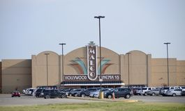 Malco Hollywood bio 16, Jonesboro, Arkansas arkivfoton