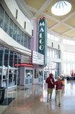 Malco Movie Theater at The Wolfchase Mall and Galleria, Memphis, Tennessee. stock photo