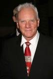 Malcolm McDowell na gala da noite da inauguração do festival de película da aventura de Jules Verne. O auditório do santuário, Los Imagens de Stock Royalty Free