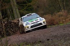 Malcolm Wilson Rally 2012 Stock Image