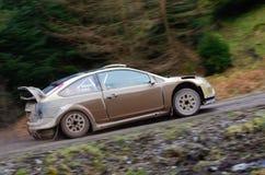 Malcolm Wilson Rally 2012 Royalty Free Stock Image