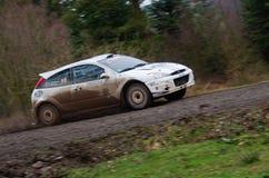 Malcolm Wilson Rally 2012 Stock Photography