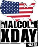 Malcolm Xday Stock Photo