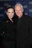 Malcom McDowell and wife at the Santa Barbara International Film Festival Cinema Vanguard Award, Arlington Theatre, Santa Barbara, Stock Image