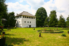 Maldarescu Versterkte Manor Stock Afbeelding