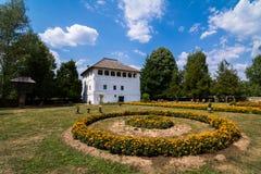 Maldaresti fortificó vila, Rumania Foto de archivo