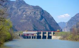 Maldición hidroeléctrica Imágenes de archivo libres de regalías