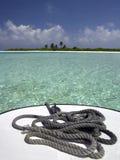 Maldivas - isla tropical Fotografía de archivo libre de regalías