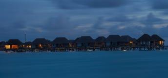 Maldivas Kani isla abril de 2015 Imágenes de archivo libres de regalías