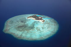 Maldive island Feydhoo Finolhu Royalty Free Stock Photo