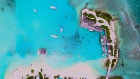 Maldiverna flyg- sikt Arkivfoton