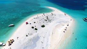 Maldiverna flyg- sikt Royaltyfria Foton